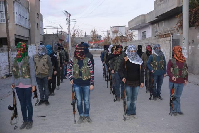 Μονάδες Πολιτικής Άμυνας (YPS) ιδρύθηκαν στο Nusaybin